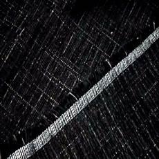 Velours Coton Noir Pour L Ameublement Chin 233 Blanc D433