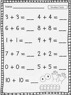 math addition worksheets for 1st grade 9927 flying into grade it s the doubles baby lets go doubles facts grade math