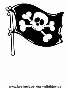 ausmalbilder totenkopf flagge piraten zum ausmalen