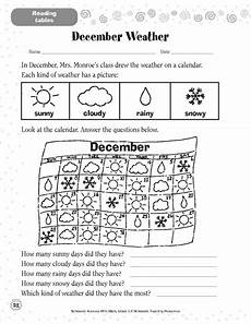 december weather worksheets and printables scholastic