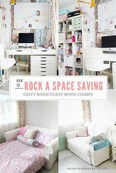 how to create a craft room guest room combo guest room