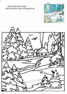 Window Color Malvorlagen Winter Kostenlos Winter Vorlagen 1 Weihnachtsmalvorlagen Vorlagen Und Winter
