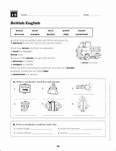 british english grade 6 vocabulary printable skills sheets