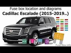 Fuse Box Location And Diagrams Cadillac Escalade 2015