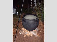 make a large cauldron