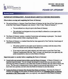 new york state power of attorney form free new york power of attorney forms and templates
