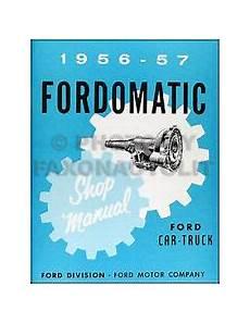 auto manual repair 1955 ford thunderbird transmission control fordomatic transmission ebay