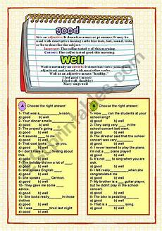good well esl worksheet by malvarosa