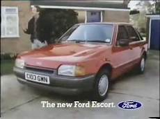 all car manuals free 1986 ford escort auto manual 1986 ford escort commercial youtube