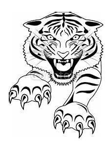 bildergebnis f 252 r tigerkopf ausmalen vorlage zeichnungen