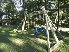 Kinderspielplatz Selber Bauen - 34 free diy swing set plans for your backyard