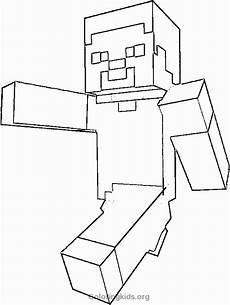 Malvorlagen Minecraft Steve Minecraft Ausmalbilder Steve