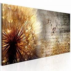 Decomonkey Bilder Pusteblume Blumen 120x40 Cm 1 Teilig
