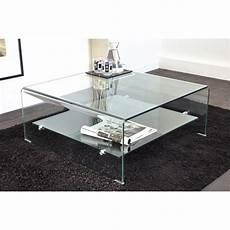 vera table basse carr 233 e en verre courb 233 80 x 80 cm achat