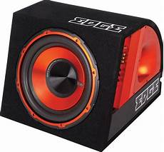 edge edb10 10 quot v2 active car sub box subwoofer lifier