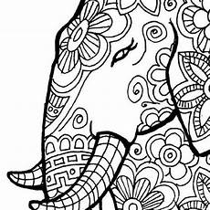 coloring pages for adults elephants at getdrawings com free for personal use coloring pages