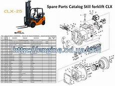 Halla Forklift Wiring Diagram by Still Forklift Service Manuals And Spare Parts Catalogs