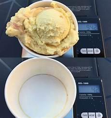 Leserfrage Wie Viel Gramm Wiegt Eine Kugel Eis