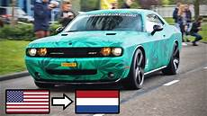 american muscle cars in europe the netherlands belgium