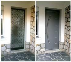porte d entrée renovation porte entree en tableau isolant thermique