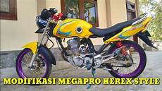 Modifikasi Megapro Herex by Review Modifikasi Megapro Herex Style