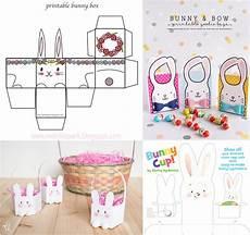 11 free printable easter baskets printables 4