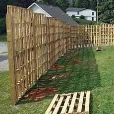 Found This Pallet Fence When I Was Researching Privacy
