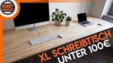 Schreibtisch Selbst Bauen - xl schreibtisch f 252 r 100 selber bauen f 252 r anf 228 nger