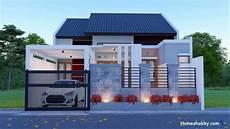 Desain Dan Denah Rumah Terbaru Ukuran 9 X 12 M Dengan 3