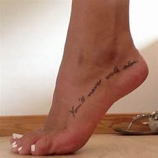 Tattoos Am Fuß Schriftzug - you ll never walk alone ynwa tattoos