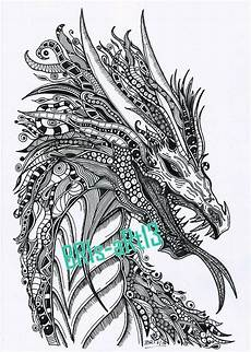 Ausmalbilder Erwachsene Drachen Coloring Pages Coloring Zenzia Quot Drache Quot Made By