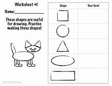 drawing shapes worksheets 1081 shape drawing practice worksheet by otterpaint tpt