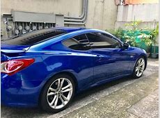 Fresh Hyundai Genesis Coupe Blue For Sale 400834