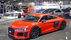 audi r8 v10 plus abt loud revs sound driving