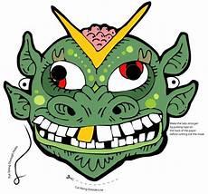 kostenlose halloweenmasken f 252 r kinder freshdads v 228 ter