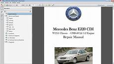 car repair manuals online pdf 2009 mercedes benz e class interior lighting manuales de taller de mercedes benz