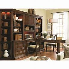 home office furniture wall units hooker furniture cherry creek home office desk wall set in