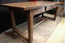 ancienne table de ferme en orme xixeme