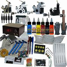4 machine apprentice tattoo kit with digital power supply