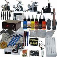 4 machine apprentice tattoo kit with digital power supply