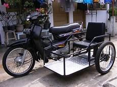 Modifikasi Motor Bebek Jadi Roda Tiga by Modifikasi Motor Untuk Difabel Modifikasi Motor Roda 3