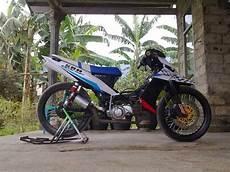 Modifikasi Zr Road Race by Modifikasi Motor Yamaha Zr Keren Terbaru Otomotiva