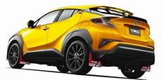Toyota Chr Tuning - toyota c hr gets the aftermarket treatment toyota