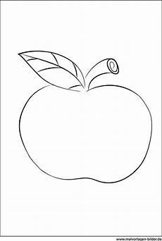 Malvorlage Apfel Zum Ausdrucken Apfel Ausmalbild Zum Ausdrucken