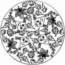 Herbst Malvorlagen Grundschule Herbst Mandala Im Kidsweb De