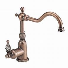 copper kitchen faucet shop danze bordeaux antique copper 1 handle high arc kitchen faucet at lowes