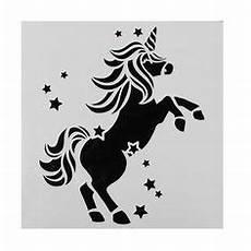Malvorlagen Unicorn Cake Wandschablonen Ausdrucken Einhorn Muster Vorlage Sterne