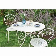 table de jardin ronde en fer