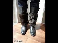 stiefel fell stulpen selber machen owimo design