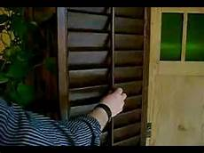 lamellen fensterläden selber bauen american shutters luxwell